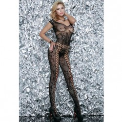 QUEEN LINGERIE BODYSTOCKING NEGRO EXCLUSIVE