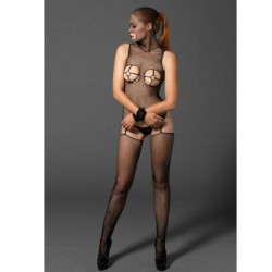 LEG AVENUE BODYSTOCKING CON AROS GOLD Y ESPOSAS