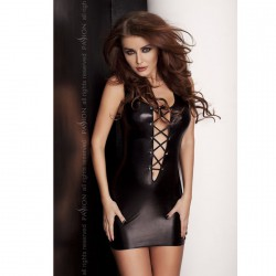 LYZZY VESTIDO NEGRO BY PASSION L/XL