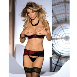 AVANUA MARGOT SET ROJO/NEGRO S/M