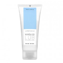 MIXGLISS LUBRICANTE BASE DE AGUA NATURAL 70ML