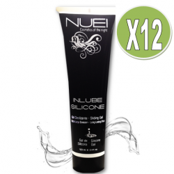 PACK 12 UDS NUEI INLUBE LUBRICANTE SILICONA 100ML