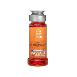 FRUITY LOVE ACEITE MASAJE EFECTOR CALOR 50 ML NARANJA / ALBARICOQUE