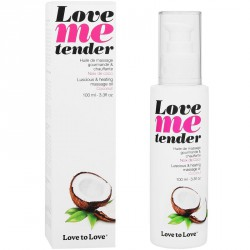 LOVE TO LOVE ME TENDER MASAJE & EFECTO CALOR SABOR A COCO 100ML