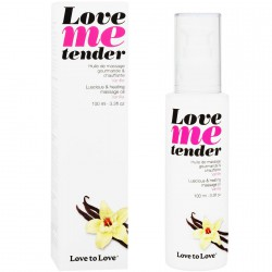 LOVE TO LOVE ME TENDER MASAJE & EFECTO CALOR SABOR A VAINILLA 100ML