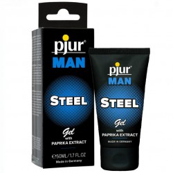 PJUR MAN STEEL GEL ESTIMULANTE 50 ML