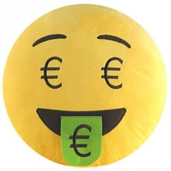 EMOTICONWORLD COJIN EMOTICONO EURO 32 CM
