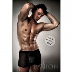 PASSION 004 MEN RED LINGERIE BLACK S/M