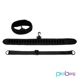 PICOBONG SPEAK NO EVIL CHOKER COLLAR NEGRO