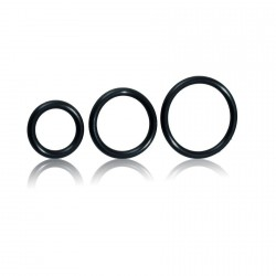 COCK RING BALL RUBBER SET 3 ANILLOS
