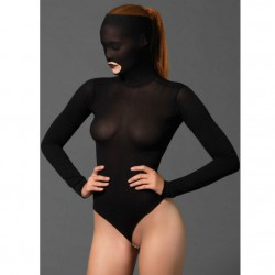 LEG AVENUE MASKED TEDDY BEADED G-STRING