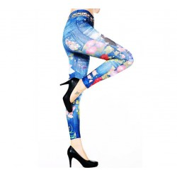 QUEEN LINGERIE LEGGING JEANS FASHION