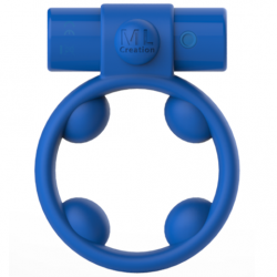 ML CREATION ANILLO COOLBOY VIBRADOR RECARGABLE AZUL