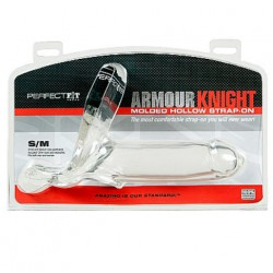 ARMOUR KNIGHT - XL - S/M FUNDA CON BANDA TRANSPARENTE