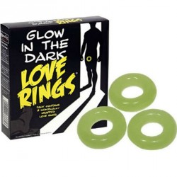 SPENCER AND FLEETWOOD - PACK 3 ANILLOS FLUORESCENTES