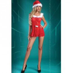 LIVCO CORSETTI - CHRISTMAS BELL BABYDOLL S/M