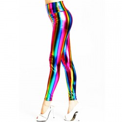 QUEEN LINGERIE LEGGINGS ARCO IRIS TALLA UNICA