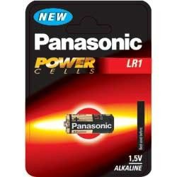 PILA LR1 ALCALINA PANASONIC POWERCELLS