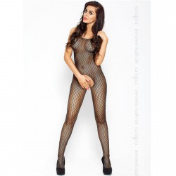 PASSION EROTICLINE CATSUIT NEGRO BS010
