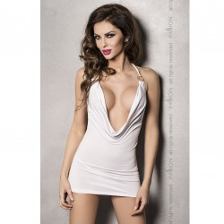 MIRACLE VESTIDO BLANCO BY PASSION WOMAN L/XL
