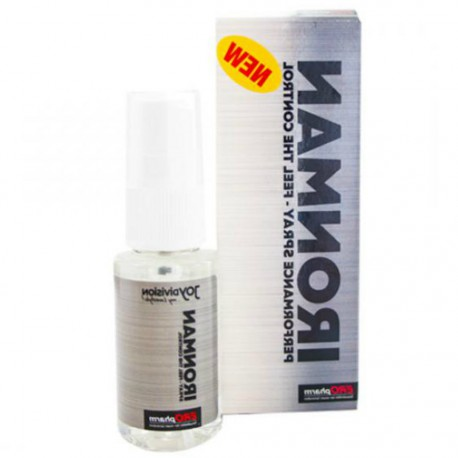 IRONMAN PERFORMANCE SPRAY RETARDANTE PARA HOMBRES 30ML