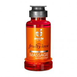 FRUITY LOVE ACEITE MASAJE EFECTOR CALOR 100 ML NARANJA/ ALBARICOQUE