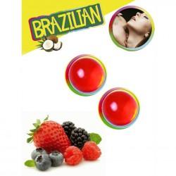 BRAZILIAN BALLS FRUTAS DEL BOSQUE SET 2 BOLAS