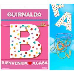 GUIRNALDA BIENVENIDA A CASA (CARTULINA 220gr)