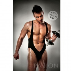 BODY 011 JOCKSTRAP BLACK MEN LINGERIE BY PASSION L/XL