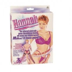 HANNAH MUÑECA HINCHABLE.