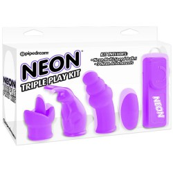 NEON TRIPLE PLAY KIT LILA