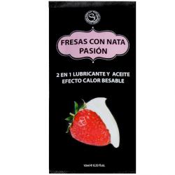 LUBE FRESAS CON NATA 10ML