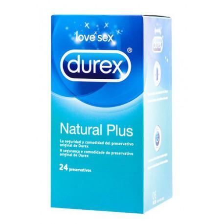 Durex Natural Plus 24