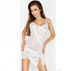 PASSION WOMAN AMARA CHEMISE BLANCO TALLA L/XL