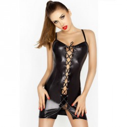 PASSION WOMAN BELLATRIX CHEMISE NEGRO TALLA S/M