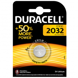 DURACELL PILA BOTON LITIO CR2032 3V BLISTER*1