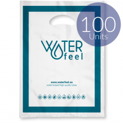 WATERFEEL 100 BOLSAS PLASTICO MEDIANAS 30 X 40 CM