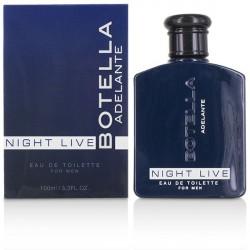 BOTELLA NIGHT LIVE PERFUME PARA HOMBRE 100ML