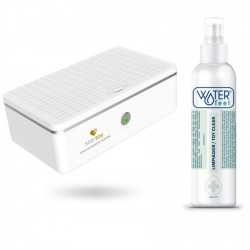 STERTOY ESTERILIZADOR + TOY CLEANER WATERFEEL GRATIS