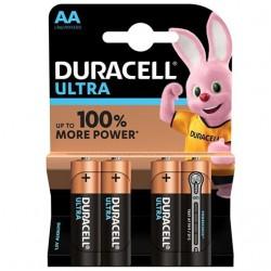DURACELL ULTRA POWER PILA ALCALINA AA LR6 BLISTER*4