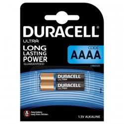 DURACELL ULTRA POWER PILA ALCALINA AAAA MX2500 1,5V BLISTER*2