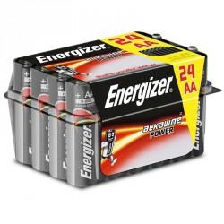 ENERGIZER ALKALINE POWER PILA ALCALINA AA LR6 PACK*24