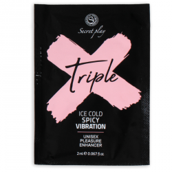 SECRETPLAY MONODOSIS TRIPLE X INTENSIFICADOR PLACER